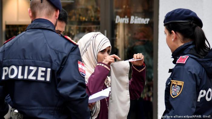 Gesichtsverhüllungsverbot in Österreich (picture-alliance/dpa/APA/B. Gindl)