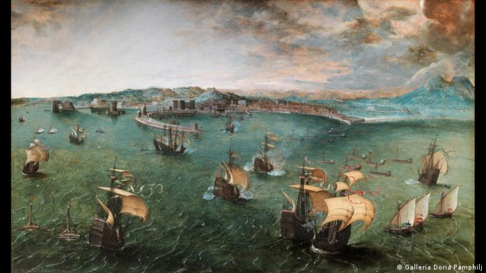 Неаполітанська гавань, 1563 рік