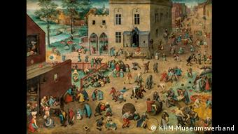 Searching for hidden objects in one of Bruegel's paintings
