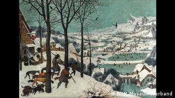Ausstellung Bruegel - Jäger im Schnee