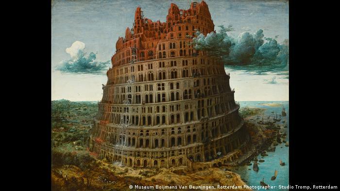 Вавилонська вежа, 1563 рік