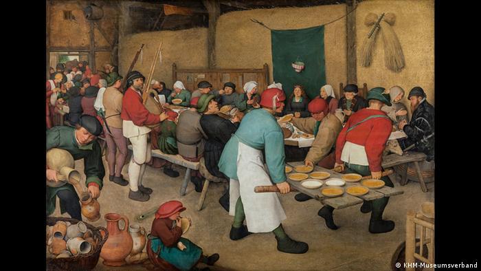 Селянське весілля, 1567 рік