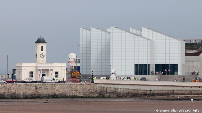 A general view of the new Turner Contemporary Gallery
