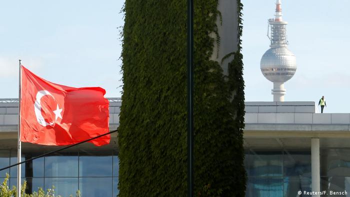 Deutschland Recep Tayyip Erdogan, Präsident Türkei | Symbolbild (Reuters/F. Bensch)