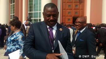 Angola Augusto Tomas Verkehrsminister