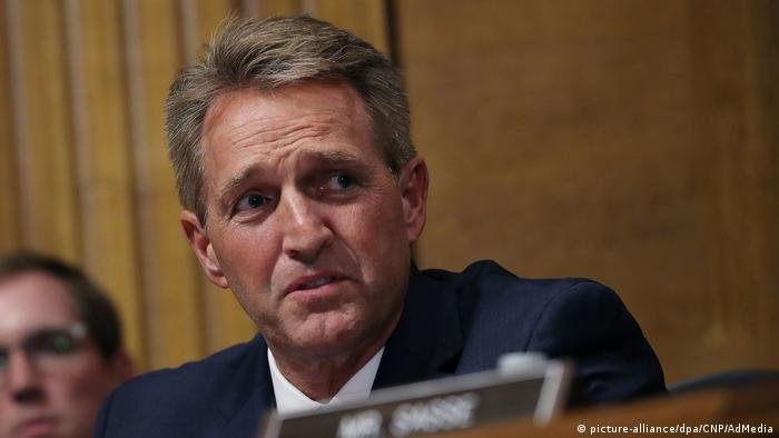 USA | Anhörung im US-Senat: Vorwürfe gegen Kavanaugh (picture-alliance/dpa/CNP/AdMedia)