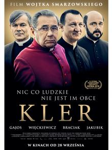 A poster for the film Kler
