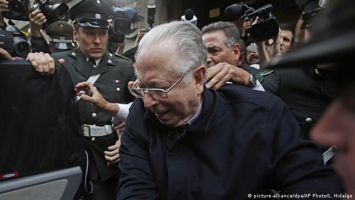 Chile | Fernando Karadima (picture-alliance/dpa/AP Photo/L. Hidalgo)