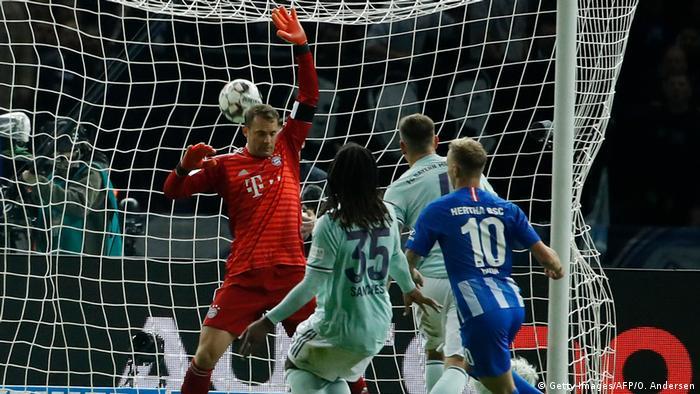 Fußball Bundesliga Hertha BSC Berlin vs Bayern München Tor 2:0