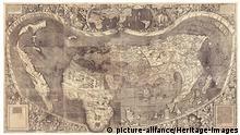 Weltkarte von Waldseemüller 1507