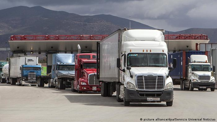 USA-Mexiko-Handel- NAFTA (picture alliance/dpa/Servicio Universal Noticias)