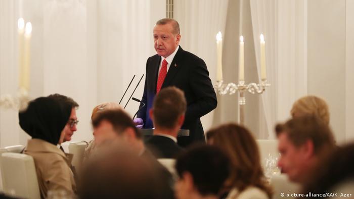 Deutschland l Staatsbankett in Berlin - Erdogan