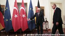 Deutschland l Staatsbankett in Berlin - Erdogan und Steinmeier