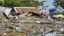 Indonesien Nach dem Erdbeben und dem Tsunami in Palu, Central Sulawesi