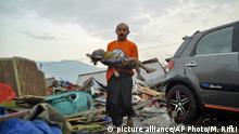 Erdbeben und Tsunami in Indonesien