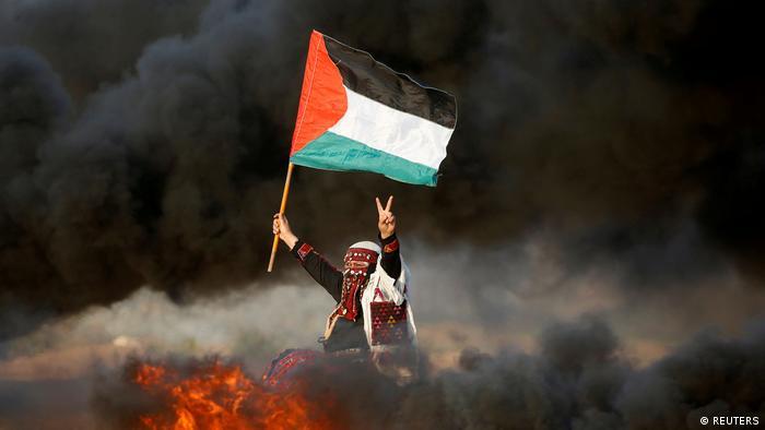 BdTD Bild des Tages Deutsch Proteste an der Grenze zwischen Israel und dem Gazastreifen (REUTERS)
