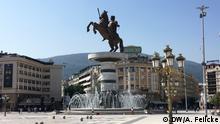 Reiterstandbild des Krieger zu Pferde - Alexander der Große; Bild: Aida Salihbegovic