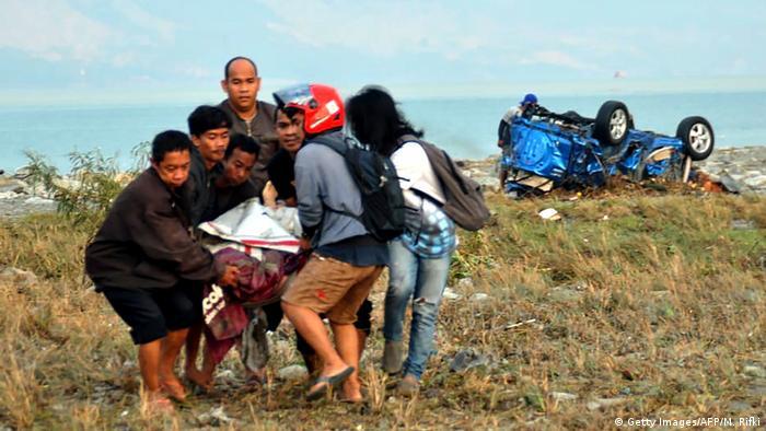 Erdbeben Tsunami in Indonesien Palu (Getty Images/AFP/M. Rifki)