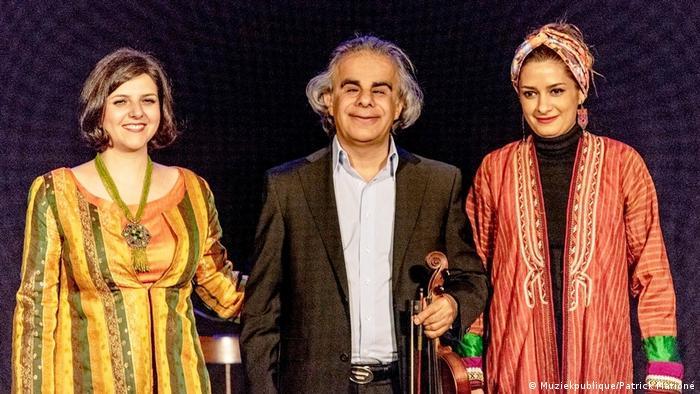 Iranisches Konzert Sepideh Raeis Sadat (Muziekpublique/Patrick Marioné)