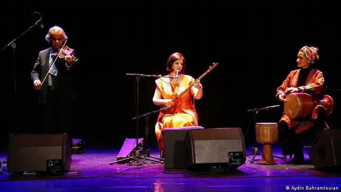 Iranisches Konzert Sepideh Raeis Sadat Eskandar Abadi Bahareh Moghtadaei