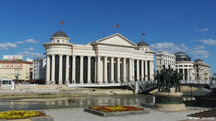 Mazedonien Skopje Referendum (DW/F. Schmitz)
