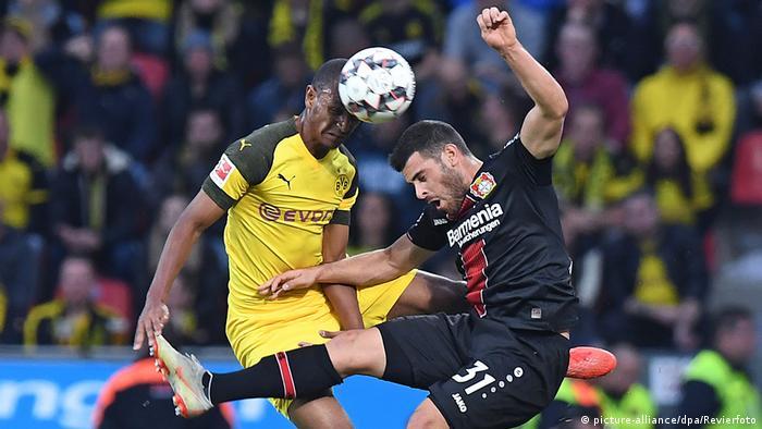 Bundesliga Bayer Leverkusen - Borussia Dortmund (picture-alliance/dpa/Revierfoto)