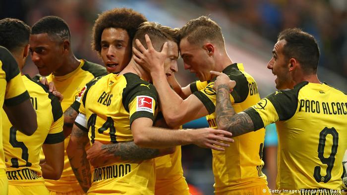 Bundesliga Bayer Leverkusen - Borussia Dortmund | Jubel Reus