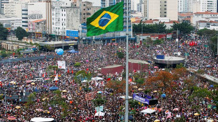 Brazil - Demonstrations against Bolsonaro