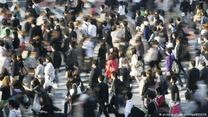 Symbolbild Trend - Menschen in Bewegung (picture-alliance/ImageBROKER)