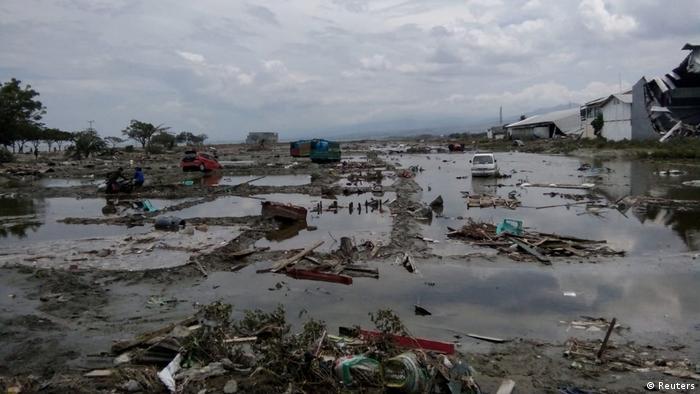 Así quedó Palu, en Indonesia, luego del terremoto y el tsunami.