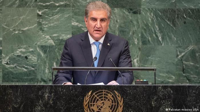 USA UN Shah Mahmood Qureshi in New York