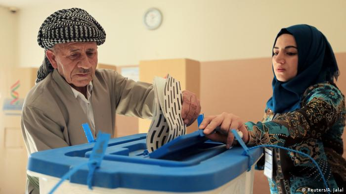 Irak Wahlen in Erbil (Reuters/A. Jalal)
