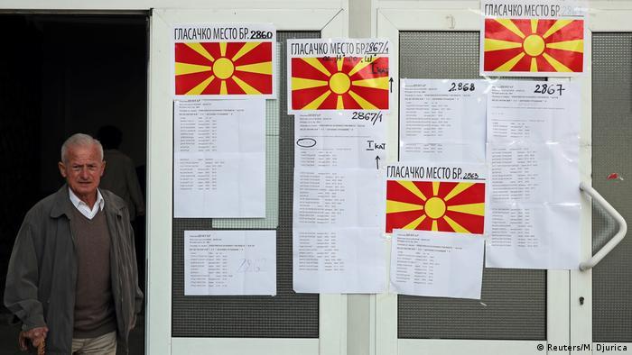 Mazedonien Referendum in Skopje