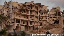 Syrien Zerstörung in der Provinz Idlib