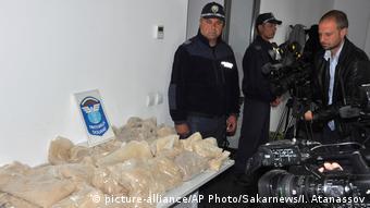 Българската полиция е заловила голяма пратка наркотици
