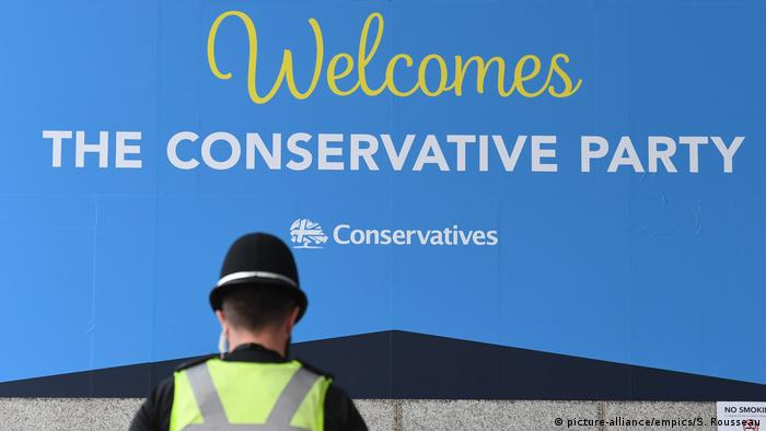 England Parteitag der Konservativen in Birmingham (picture-alliance/empics/S. Rousseau)