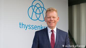 ThyssenKrupp-Chef Guido Kerkhoff