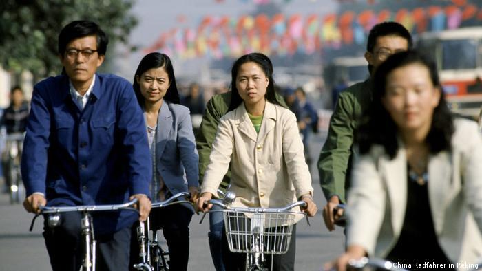 China Radfahrer in Peking (China Radfahrer in Peking)