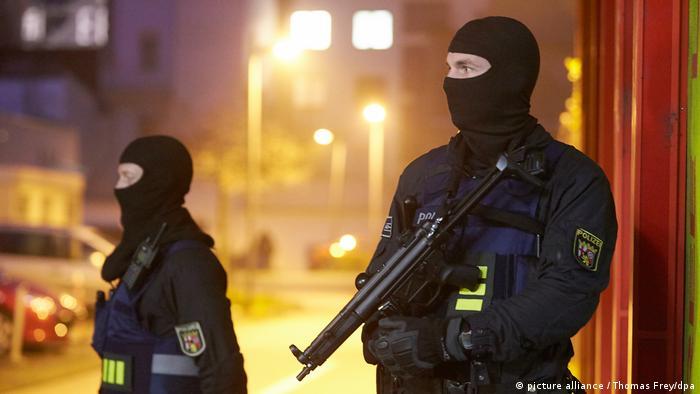 German SEK special police
