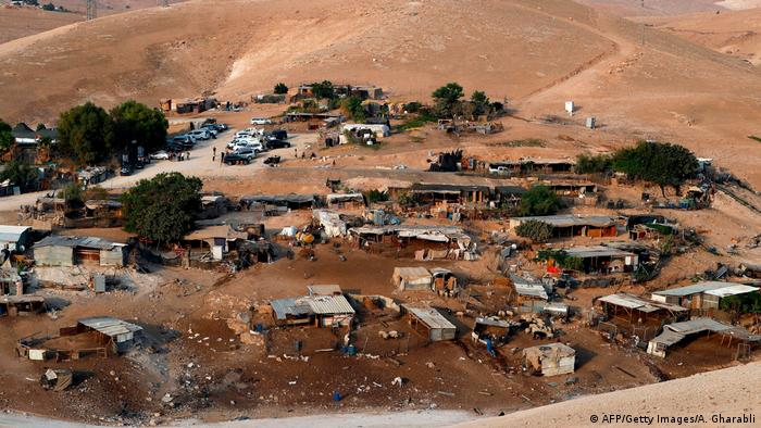 Israel postpones forced eviction of West Bank Bedouin village