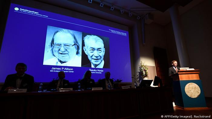 Tasuku Honjo and James Allison awarded Nobel Prize in medicine