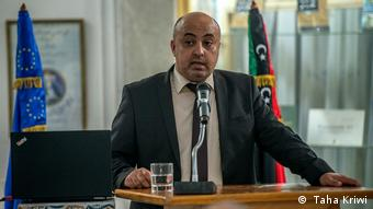 Jalal Othman, head of the media department of Libya's president's office. ( Taha Kriwi)