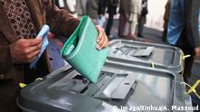 Afghanistan Kabul - Wahl (Archivbild)