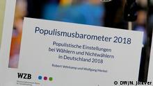 Deustschland   Studie Populismusbarometer 2018