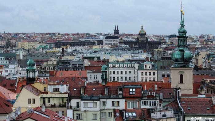 Prague is super pretty but super packed