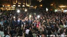 Armenien Jerewan - Hunderte Menschen in Erevan trauern um Charles Aznavour
