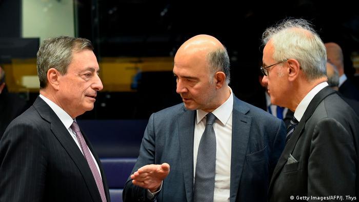 Draghi i Moscovici