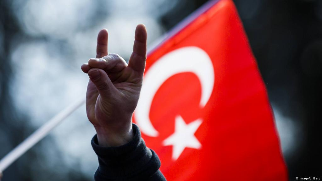 Turkish far-right Erdogan greetings cause concern in Germany   News   DW   02.10.2018