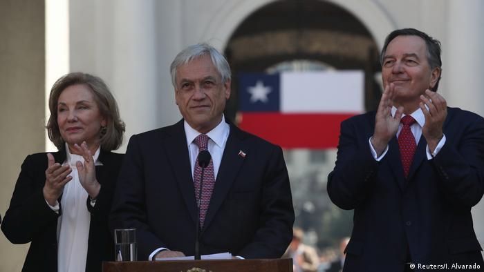 Piñera ofrece reanudar el diálogo con Bolivia tras el fallo de La Haya