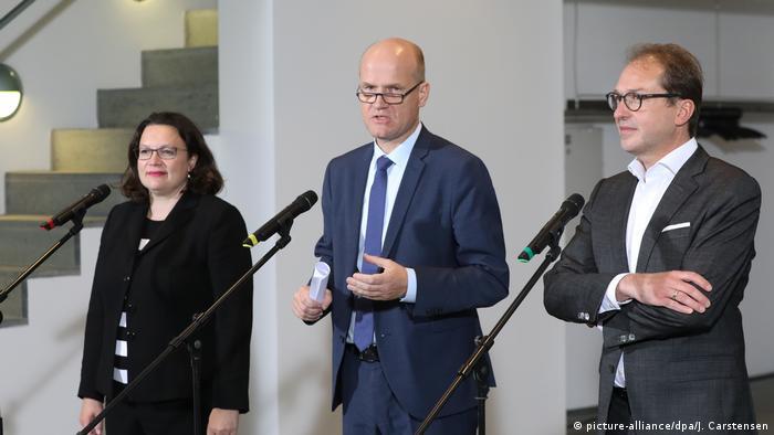 Deutschland Koalitionsausschuss zur Diesel-Krise